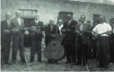 Tamburaši Drenovčana na proslavi 50. obljetnice